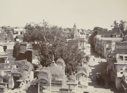 Part of city, Rangiyan Mundir, [Kota].